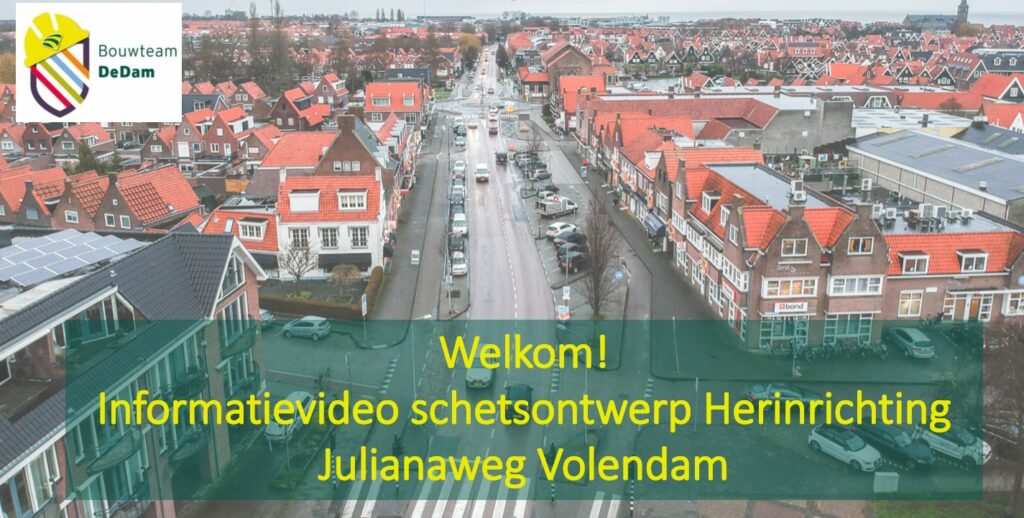 Beginscherm informatievideo Julianaweg